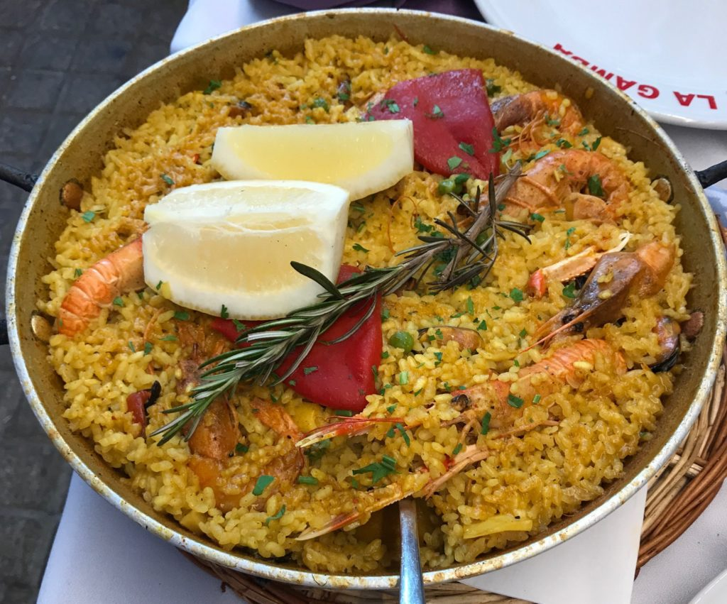 The Spanish capital is well-known for its paella