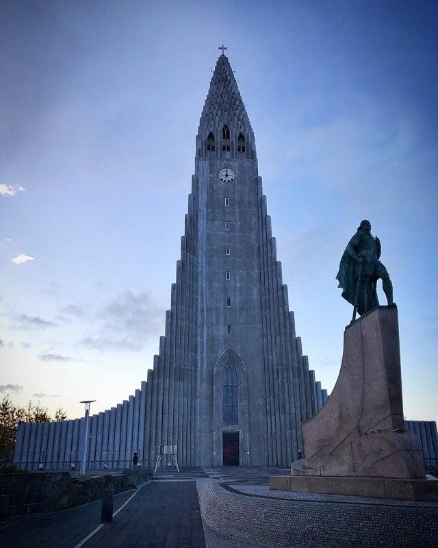 Iceland Hallgrimskirkja - Lutheran Church - Iceland itinerary