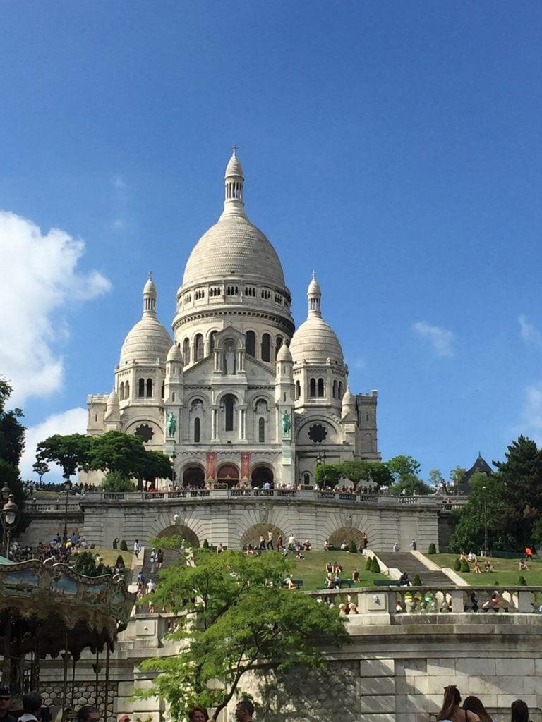 Sacre-Coeur in Paris Churches