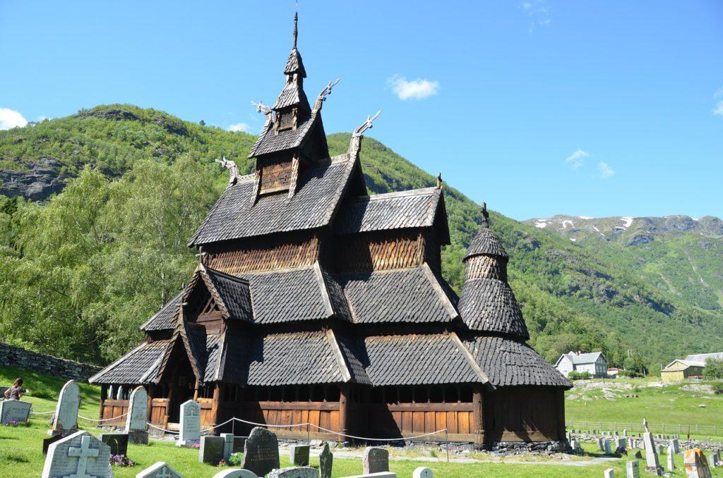 Borgund Stavkirke in Norway