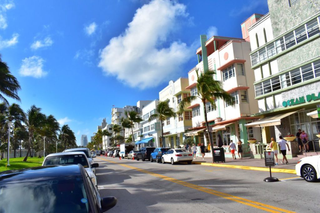 Ocean Drive is one of the top attractions in Miami