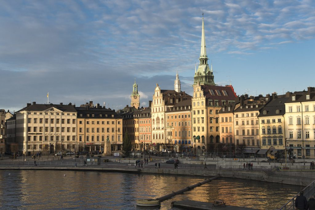 Image of the heart of Stockholm