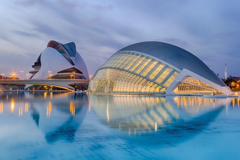 Valencia's modern architecture