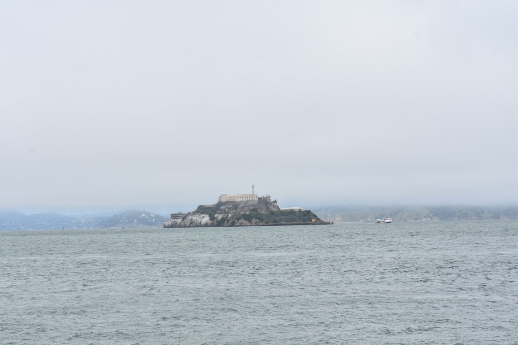 Alcatraz island nearby San Francisco