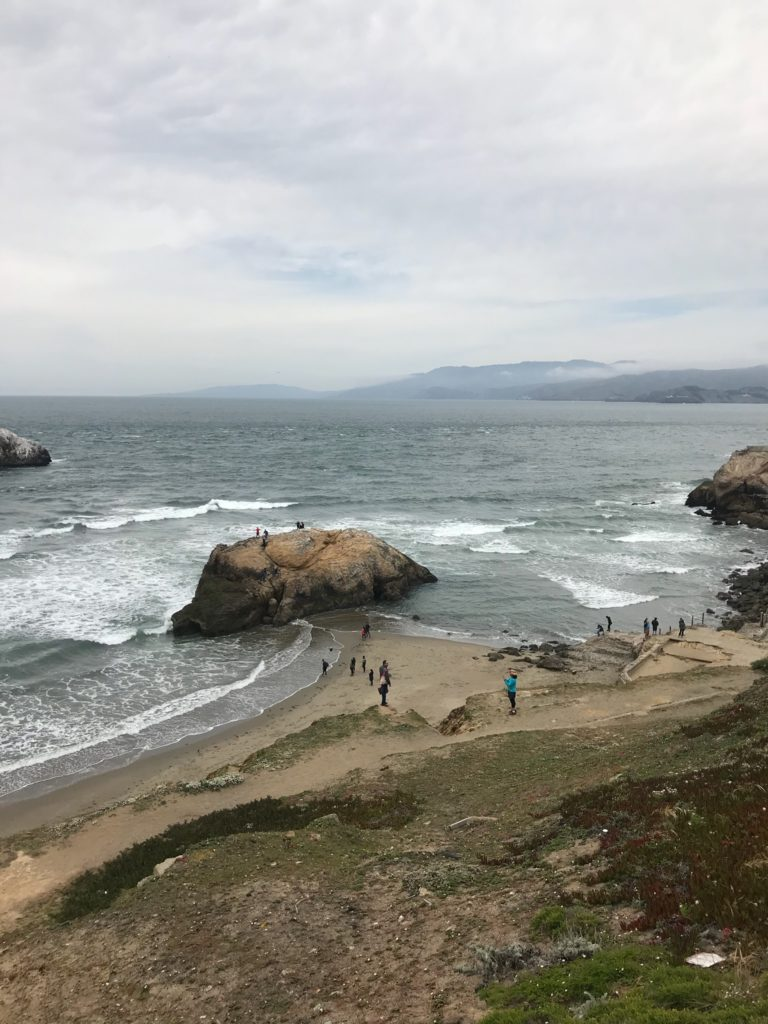 Lands End Lookout in San Francisco