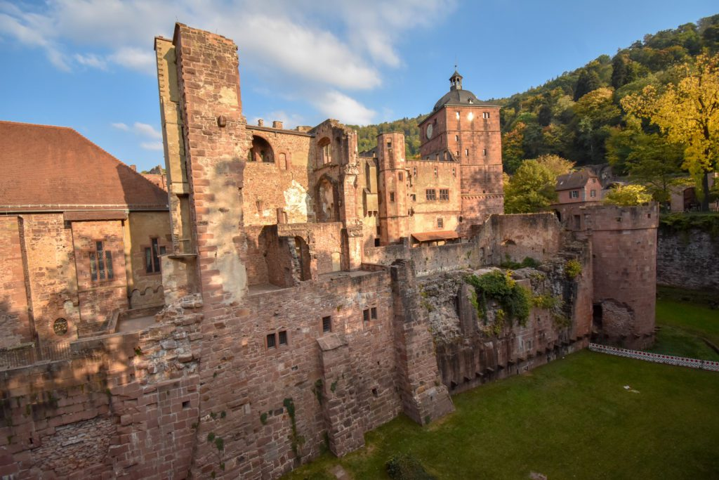 Heidelberg Castle is one of the top attractions and things to do in Heidelberg, Germany