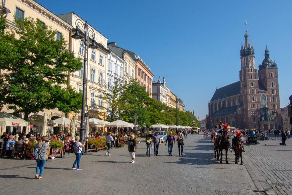 Rynek Główny, Main Market Square Krakow