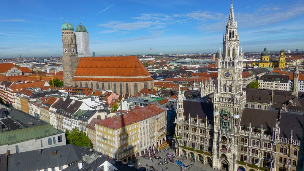 Marienplatz Munich, one of the most beautiful squares in Europe