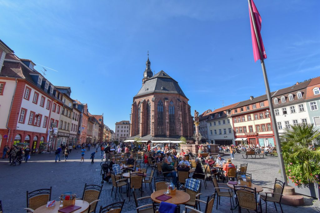 The Old Town is one of the top things to see and do in Heidelberg, Germany