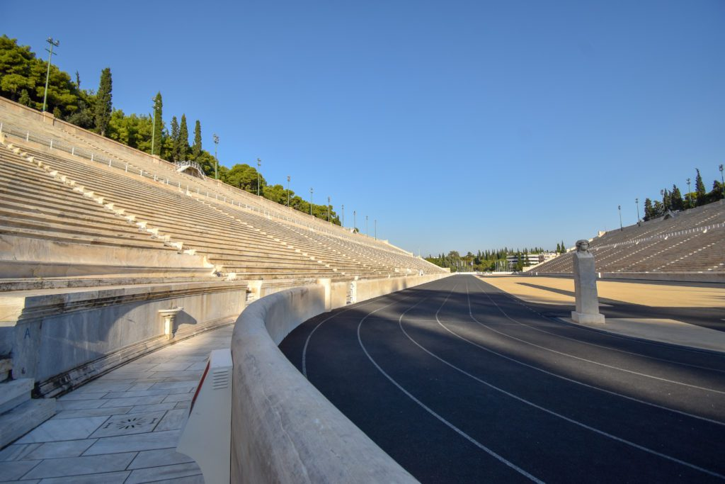 The Panathenaic Stadium is one of the top attractions in Athens.