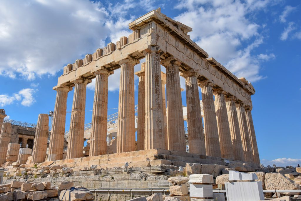 The Parthenon in Athens is among the most iconic landmarks in the world.