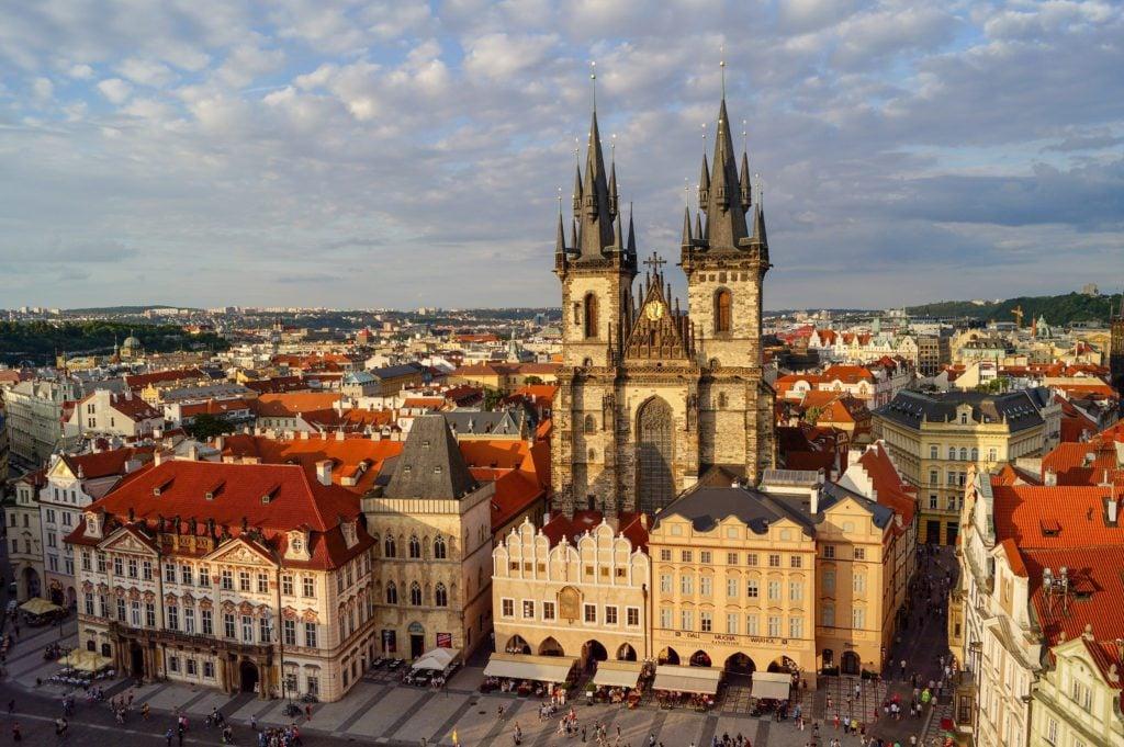 Old Town Square Prague, beautiful squares in Europe
