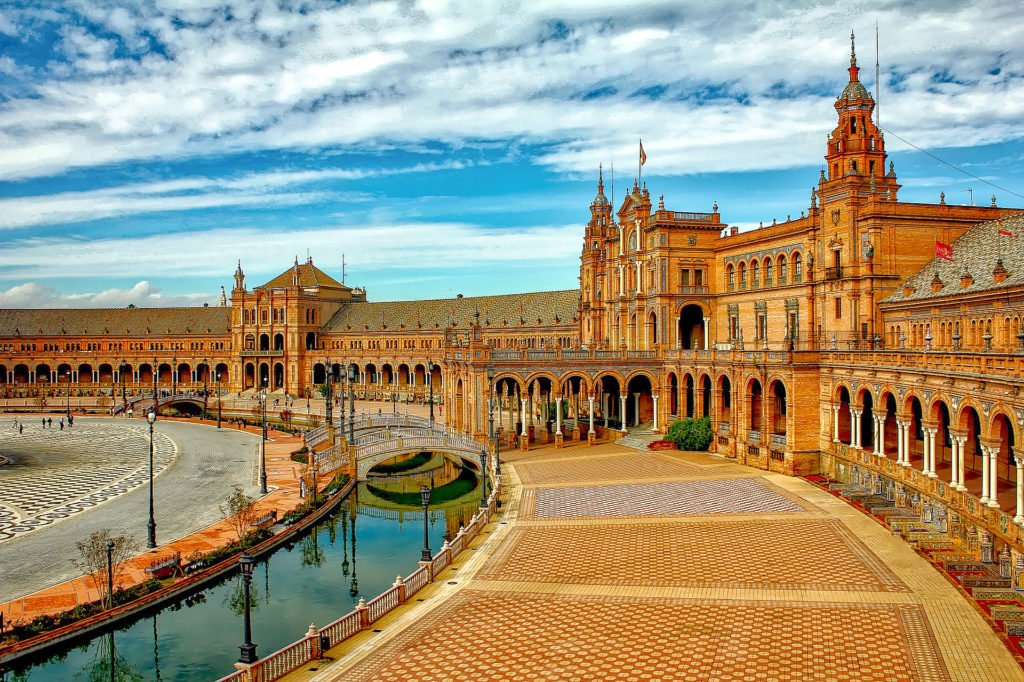 Plaza de España Sevilla, one of the most beautiful squares in Europe