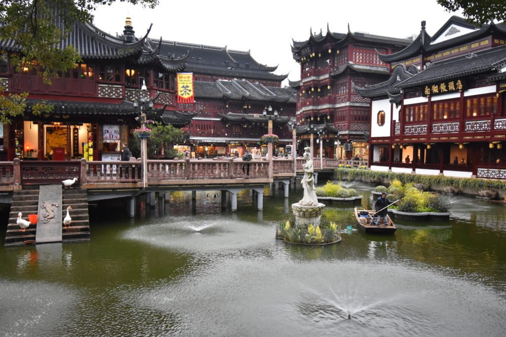 Yu Garden is one of the many must-see attractions in Shanghai