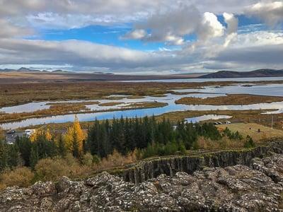 Þingvellir National Park, most Instagrammable places in Iceland
