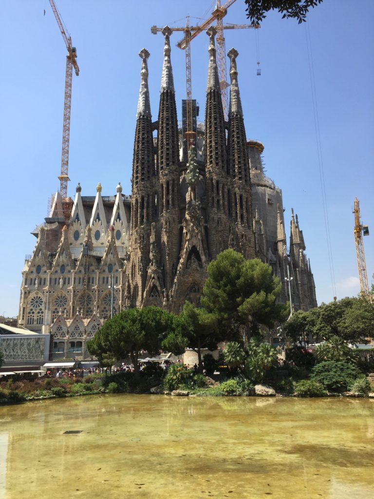 Here's a travel tip before traveling abroad to Barcelona: Buy your tickets online in advance for the Sagrada Familia.