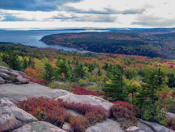 Acadia National Park in Maine is one of the most beautiful, bucket list places in the US.