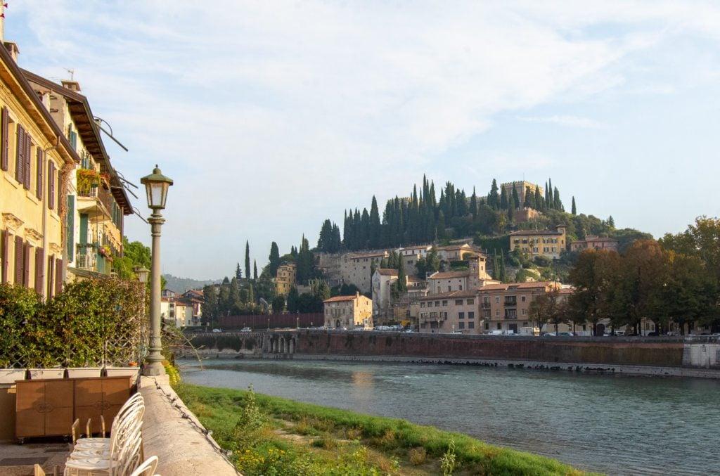 Verona Italy Travel Guide, Piazzale Castel San Pietro