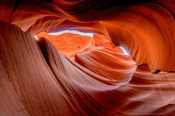 Antelope Canyon is one of the most unique and beautiful places in the US