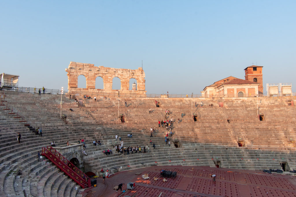 Arena di Verona interior, top things to do in Verona