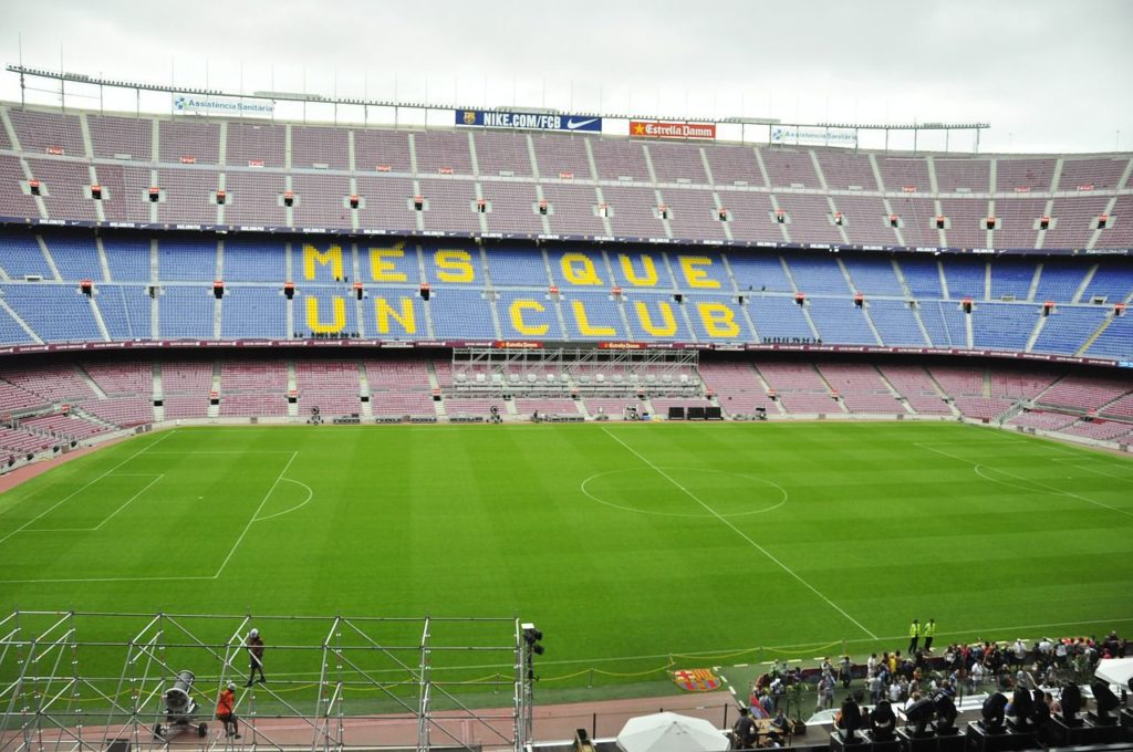 Camp Nou, most beautiful cities in Europe