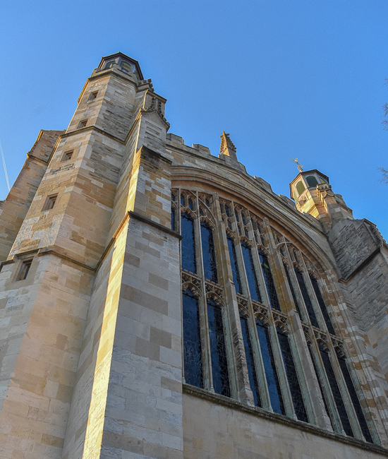 Eton College Chapel, weekend itinerary and travel guide in Windsor