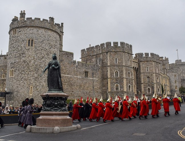 Guard Change, weekend itinerary and travel guide in Windsor, UK