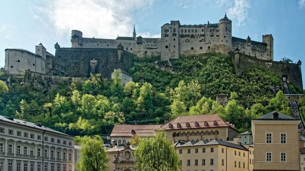Salzburg is one of the prettiest and most beautiful cities in Europe.