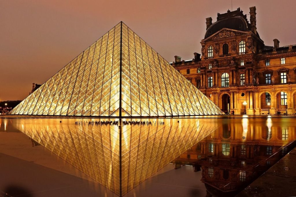 Louvre Museum, most beautiful cities in Europe