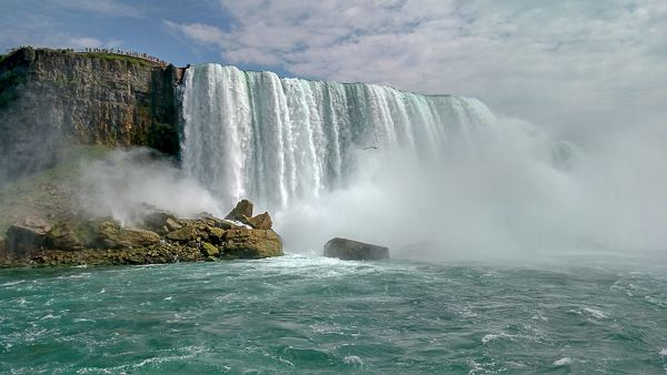 Niagara Falls in New York is one of the most unique places in the US