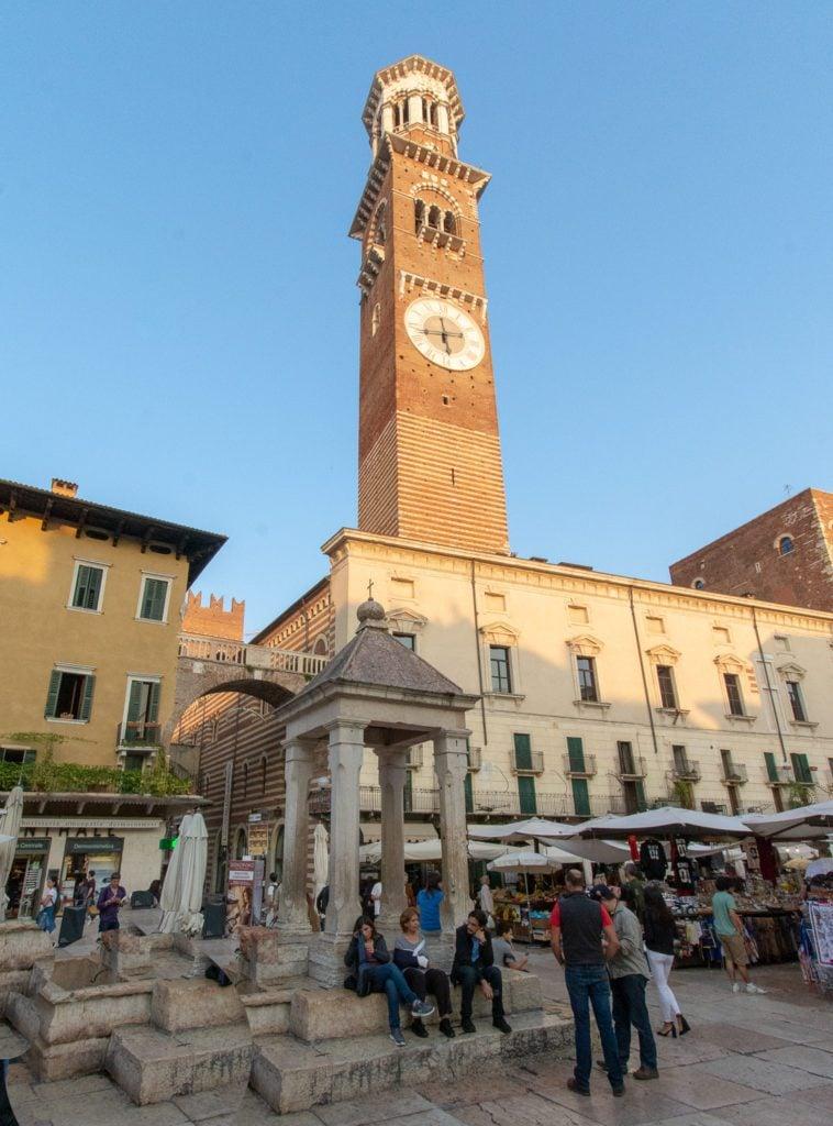 Torre dei Lamberti, a key part of the Verona Travel Guide