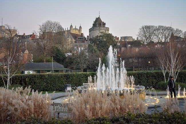 Jubilee Fountain in the Alexandra Gardens