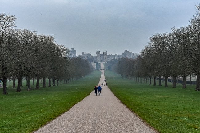 The Long Walk, weekend itinerary and travel guide in Windsor