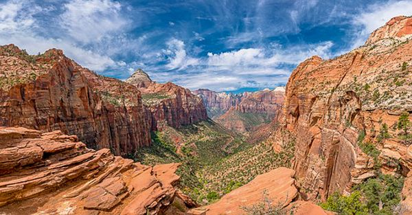 Zion Canyon ranks high among the most unique places in the US
