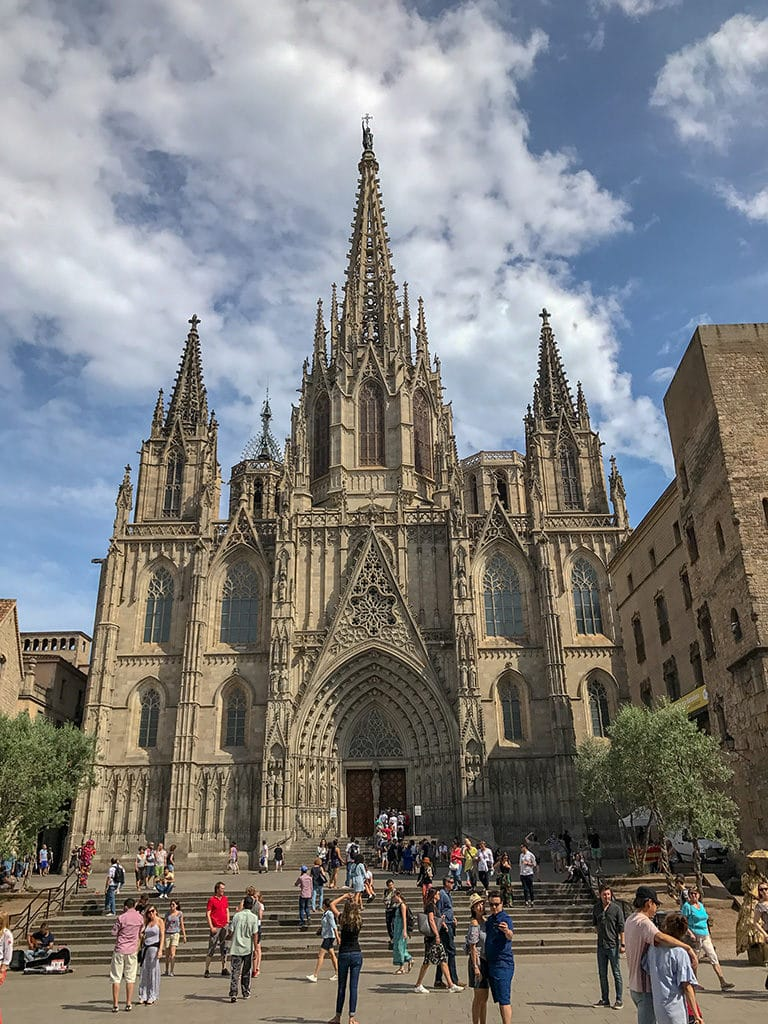Barcelona Cathedral, long weekend itinerary in Barcelona