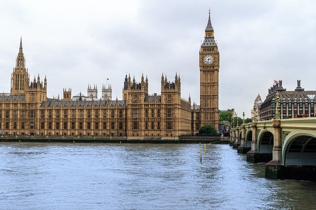 Big Ben and the Palace of Westminster in London, two of the best photography spots in the UK