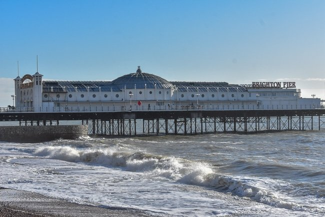 Stopping by Palace Pier is definitely among the cool and quirky things to do in Brighton, England.