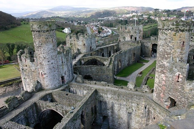 Conwy Castle is one of the most Instagrammable places in Wales.