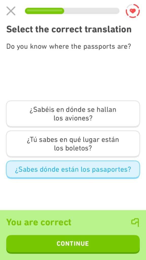 Duolingo is my favorite language-learning application