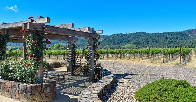 Robert Mondavi winery in Napa Valley.
