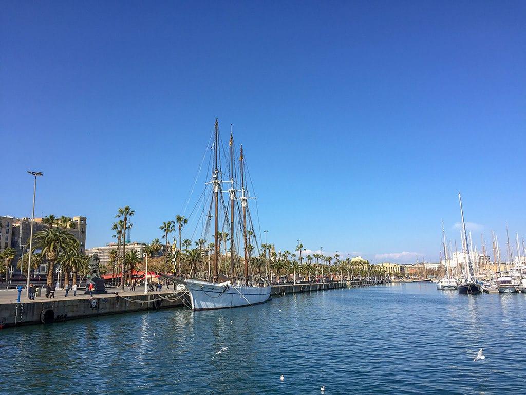Port Vell, long weekend in Barcelona