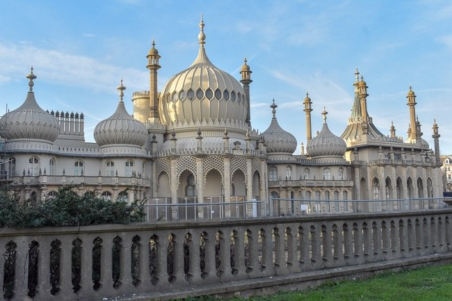 Royal Pavilion in Brighton is one of the top photo spots in the UK.
