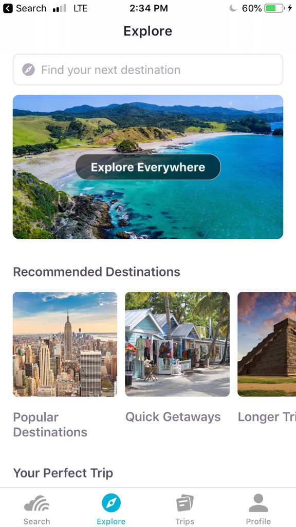 Skyscanner is my go-to travel app for booking flights, especially in Europe.