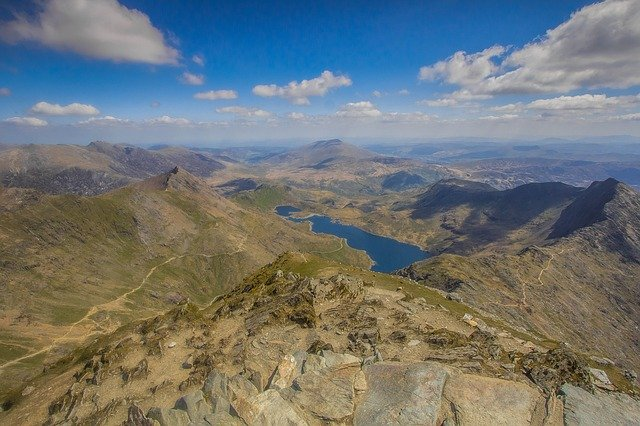 Snowdon in Snowdonia National Park, Wales is one of the best photo spots in the UK