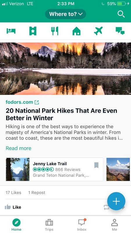 TripAdvisor is a helpful resource for finding things to do in a destination