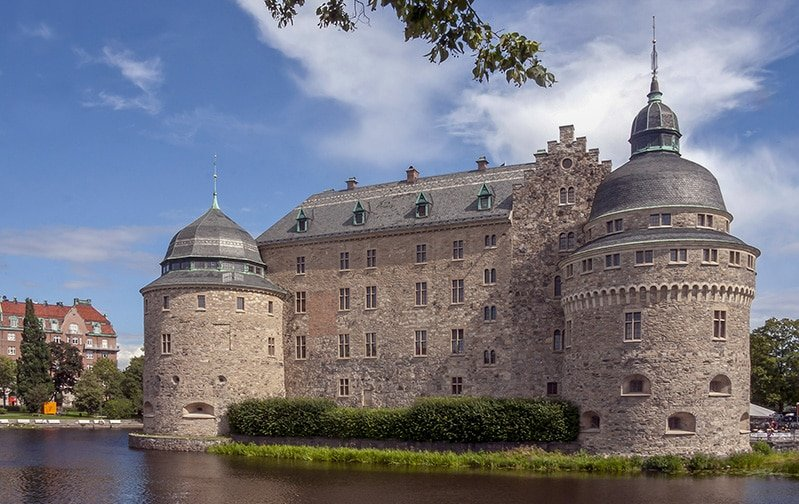 Örebro Castle in Sweden is one of the most incredible fortifications in Europe