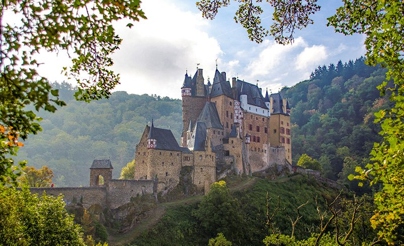 "Eltz Castle (""Burg Eltz"") is one of the best castles in Germany and Europe."