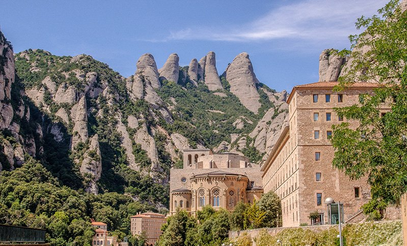 Montserrat deserves a spot among the most Instagrammable sights and places in Spain