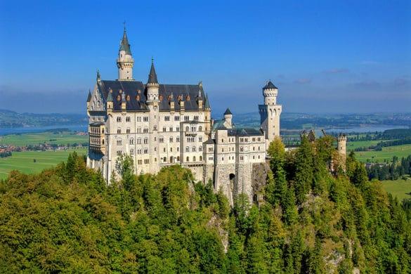 Neuschwanstein Castle - Most beautiful castles in the world