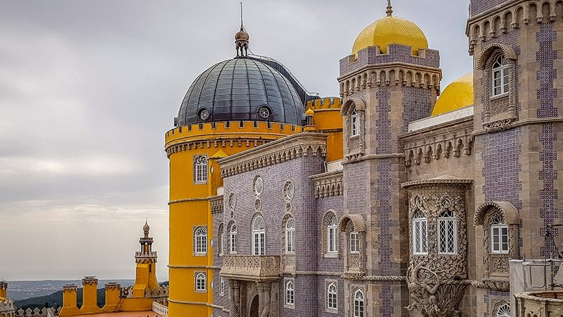 The National Palace of Pena in Portugal